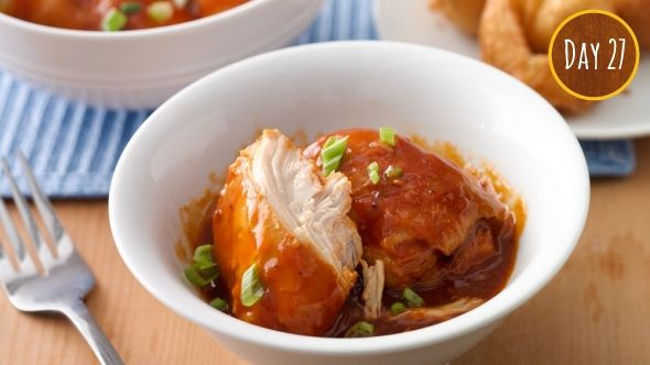 NEW Slow-Cooker Barbecue Chicken