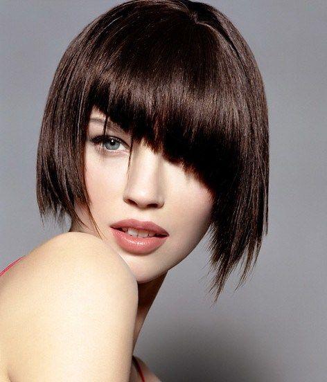 Asimétricas cortes de pelo corto para el 2016