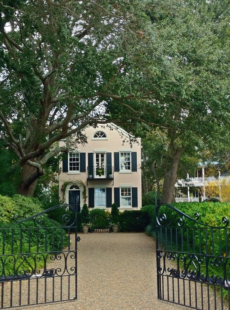 161 best gated tree lined entrance images on pinterest for Landscaping rocks charleston sc