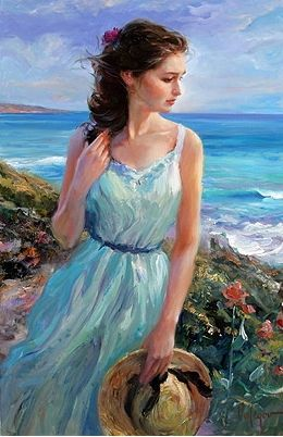 "~ Painting by Vladimir Volegov ~ ""Every artist dips his brush in his own soul, and paints his own nature into his pictures."" ~Henry Ward Beecher"