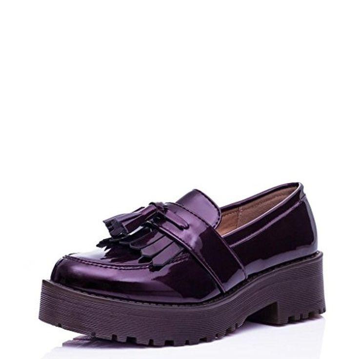 SPYLOVEBUY RAMMY Escarpins à Talons Larges Plateformes #Mocassins #chaussures http://allurechaussure.com/spylovebuy-rammy-escarpins-a-talons-larges-plateformes/