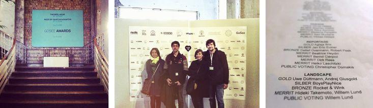 BoysPlayNice ocenění v GooSee Awards 2014, Berlín