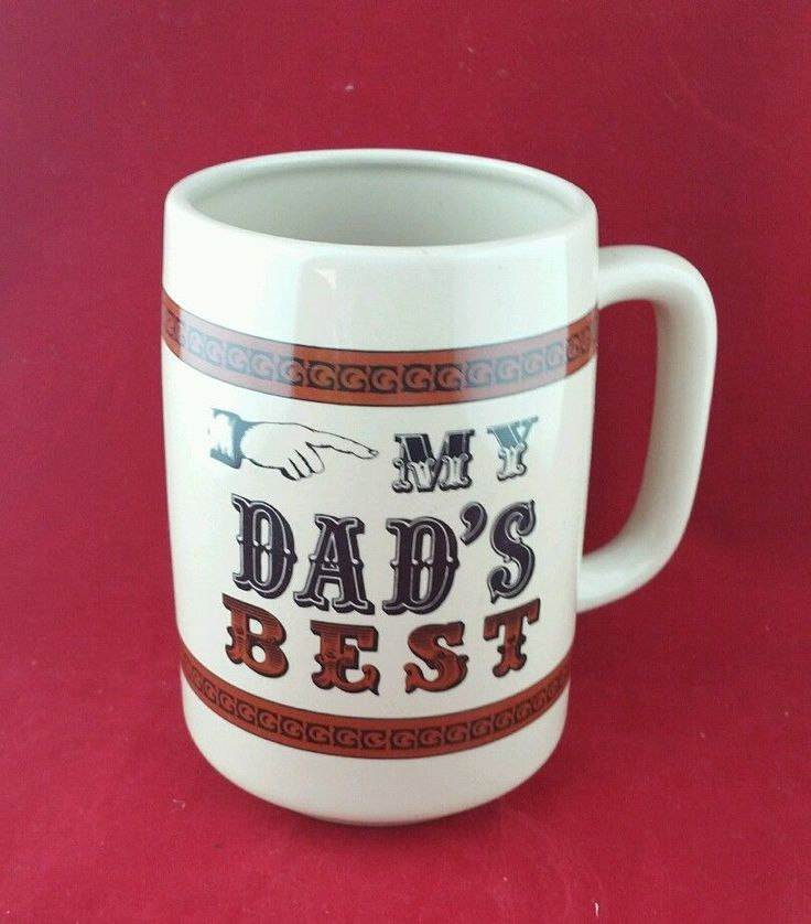 My Dad's Best Coffee Cup Mug