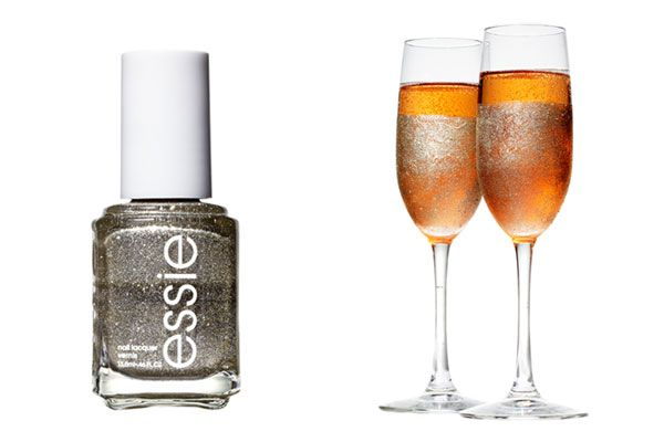 DIY glitter-bomb champagne flutes? Hell. Yes.  http://www.cosmopolitan.com/food/party-ideas/cheap-party-supplies