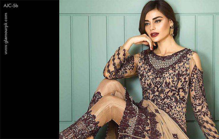 Asim Jofa Luxury Chiffon Collection Winter Dresses 2018