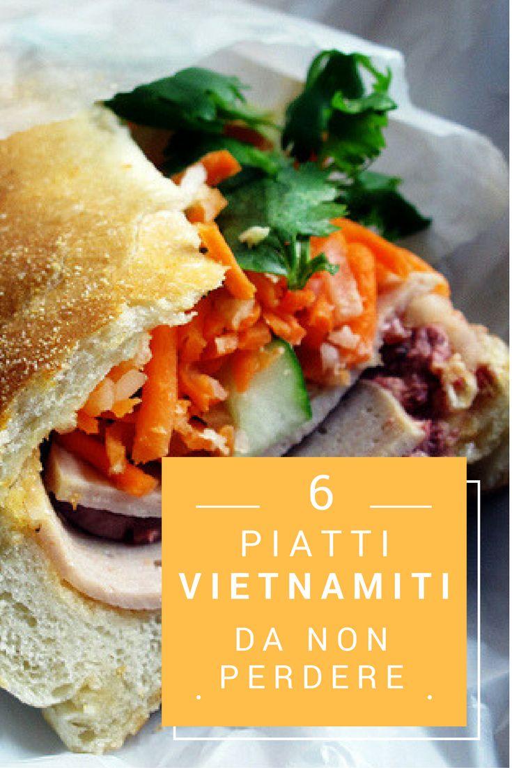 """""""Banh mi"""" – Panino del Vietnam  Con il Banh mi del Vietnam si uniscono carote sott'aceto, coriandolo, cetrioli, maionese vietnamità e mortadella """"chả lụa"""" o paté o la carne alla griglia o omelette, tocca a voi. Ma la maggior parte del banh mi è la verdura fresca quindi è motlto adatto per estate."""