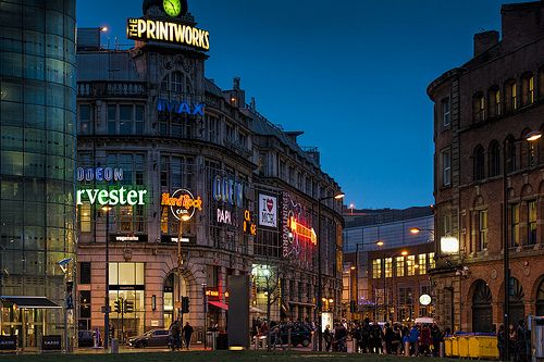 Night At The Printworks - Manchester, England