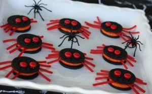 Divertidas y originales galletas de arañas, una receta ideal para preparar en Halloween.
