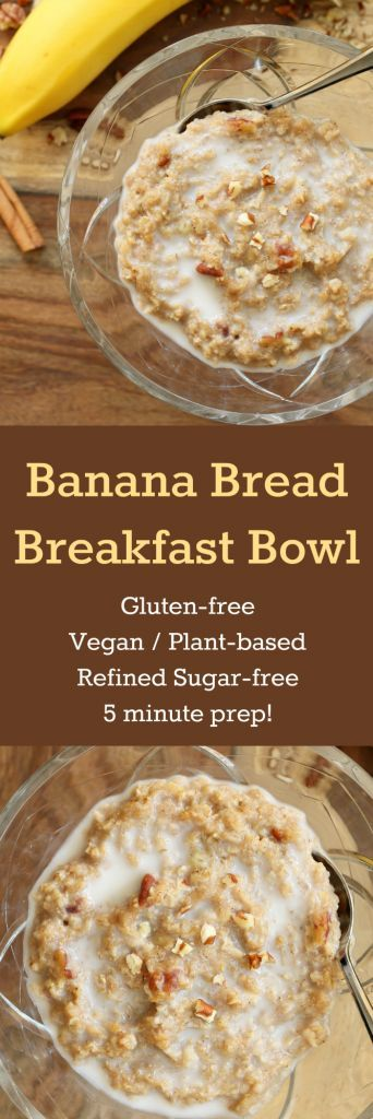 In five minutes you can change your same ol' morning breakfast cereal into something delicious, nutritious and fulfilling!