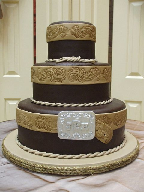 Western Wedding Cakes | Western Wedding Cake | Flickr - Photo Sharing!