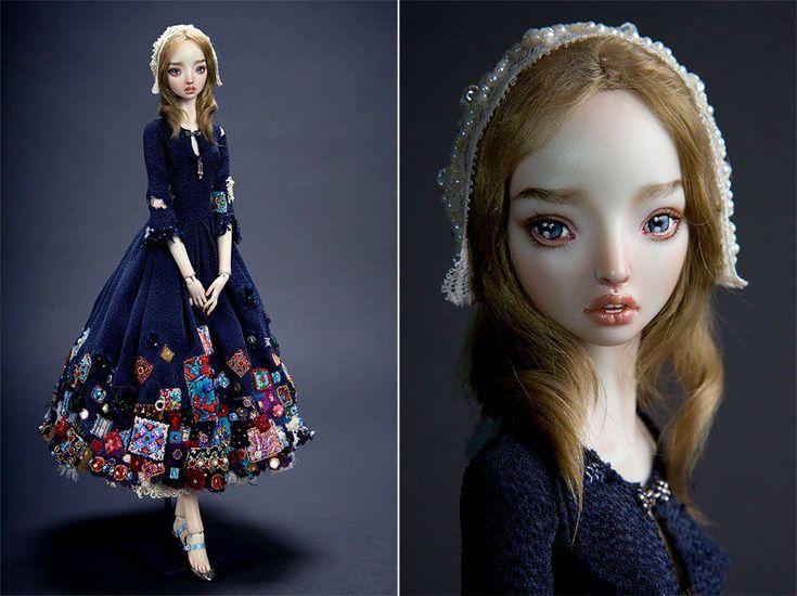 Чувственные куклы Марины Бычковой: процесс их создания, удивительные фотографии кукол и мысли мастера - Ярмарка Мастеров - ручная работа, handmade