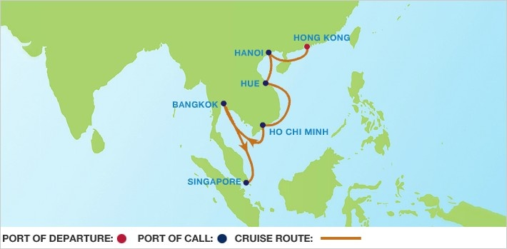 Asia cruise