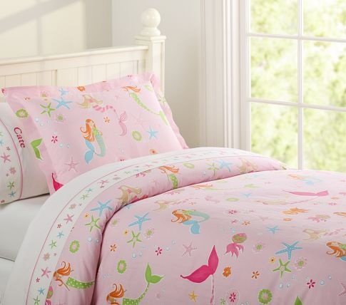 This Potterybarn mermaid set would be perfect for my girls mermaid themes  bedroom TULE BED SKIRT. 125 best Hattie s Room Makeover images on Pinterest   Mermaid