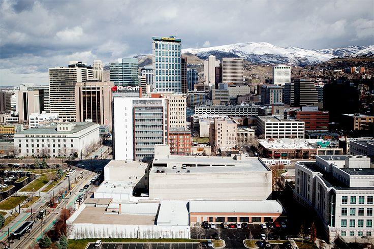 Downtown Salt Lake City, pretty! Must visit.