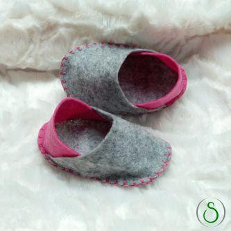 Chaussons DIY pour bébé en feutrine Box naissance Shop It Yourself