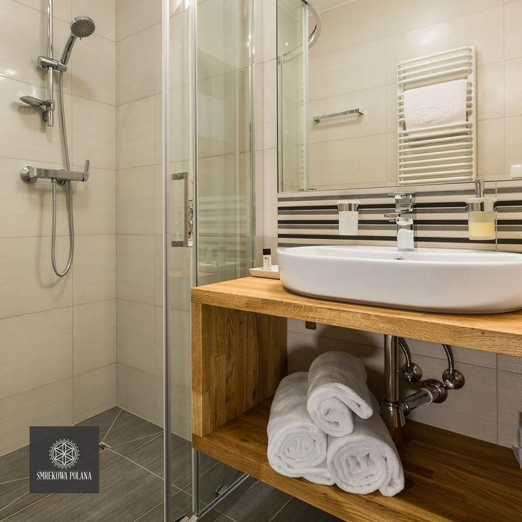 Apartament Słoneczny - zapraszamy! #poland #polska #malopolska #zakopane #resort #apartamenty #apartamentos #noclegi #bathroom #łazienka