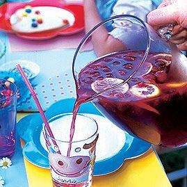 Kinder-Himbeerbowle - Rezepte