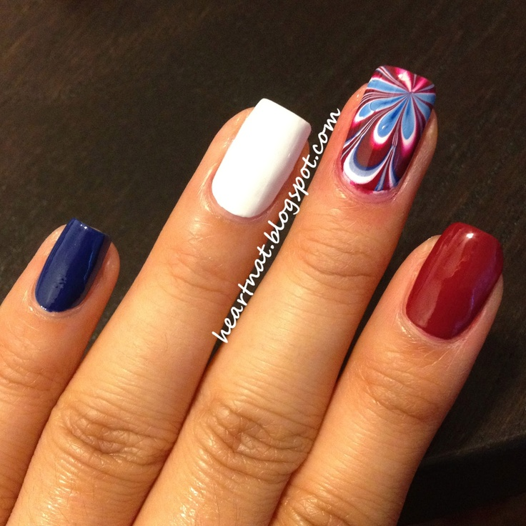 The 25 best 4th of july nails ideas on pinterest july 4th nails heartnat happy 4th of july prinsesfo Gallery