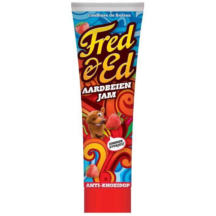 Fred & Ed Aardbeien jam