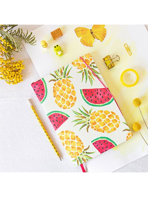 "Cuaderno Deluxe ""Totally Tropical"""