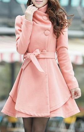 sophisticated slimming overcoat