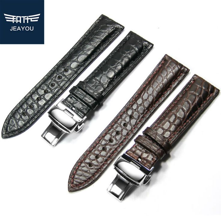 Like and Share if you want this  JEAYOU Men Real Alligator Watch Strap Genuine Leather Watch Band For Casio/Tissot/Longines 14mm 16mm 18mm 19mm 20mm 22mm 24mm     Tag a friend who would love this!     FREE Shipping Worldwide     Buy one here---> https://shoppingafter.com/products/jeayou-men-real-alligator-watch-strap-genuine-leather-watch-band-for-casiotissotlongines-14mm-16mm-18mm-19mm-20mm-22mm-24mm/