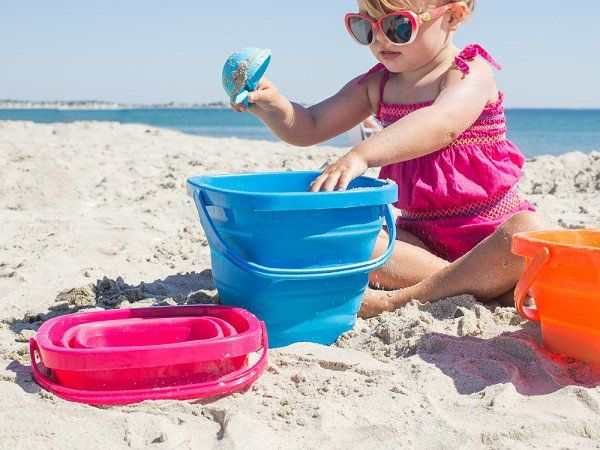Collapsible Buckets by Packable Pails