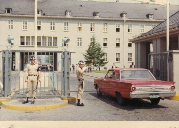 Mainz Germany Lee Barracks Gate Duty Lee Barracks