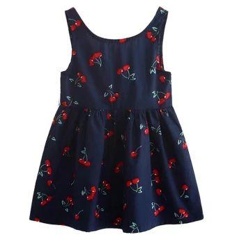 ลดราคา  Kids Girls Short Sleeve Cheery Print Dress Soft Cotton PrincessDress - intl  ราคาเพียง  156 บาท  เท่านั้น คุณสมบัติ มีดังนี้ Product: the dress Material: cotton Color: as picture Gender: girl Sleeve length: sleeveless Seasons: spring, summer, Size: 90, 100, 110, 120, 130,140 For ages: the child (2 to 7 years old), cuhk children(8-16)