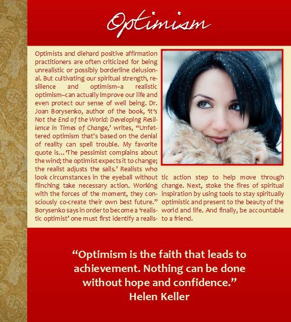 helen keller optimism essay