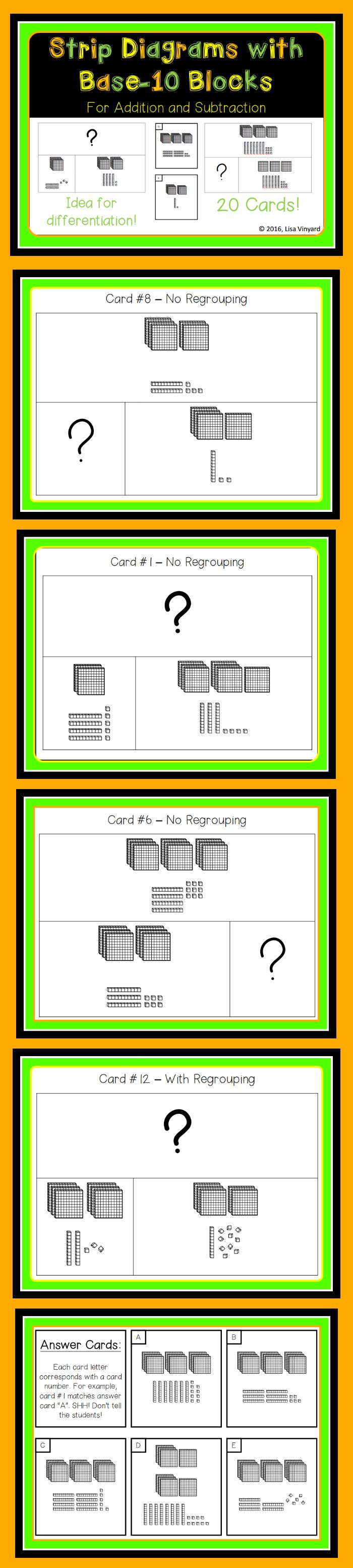 54 best cool beans ed images on pinterest beans calculus and math 2nd grade strip diagrams with base 10 blocks fandeluxe Image collections