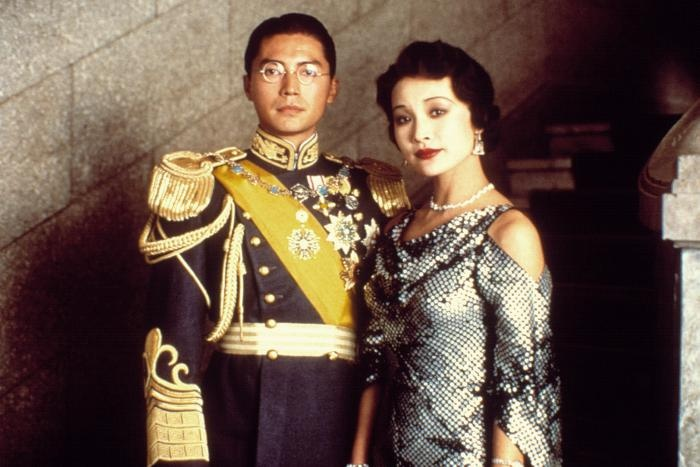 John Lone and Joan Chen in 'The Last Emperor'