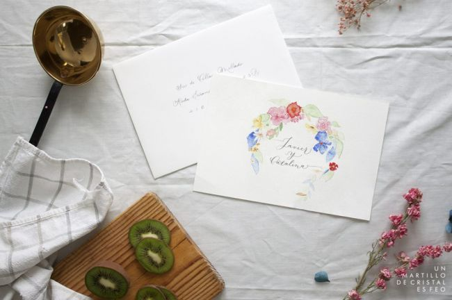 37 tipos de invitaciones de boda. ¡Toma nota e invita con estilo! Image: 34