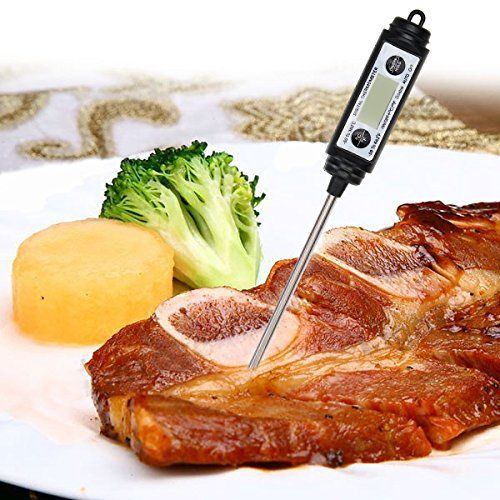 Digital Pen Style Probe Thermometer Food Cooking BBQ Thermometer(Random: Color)
