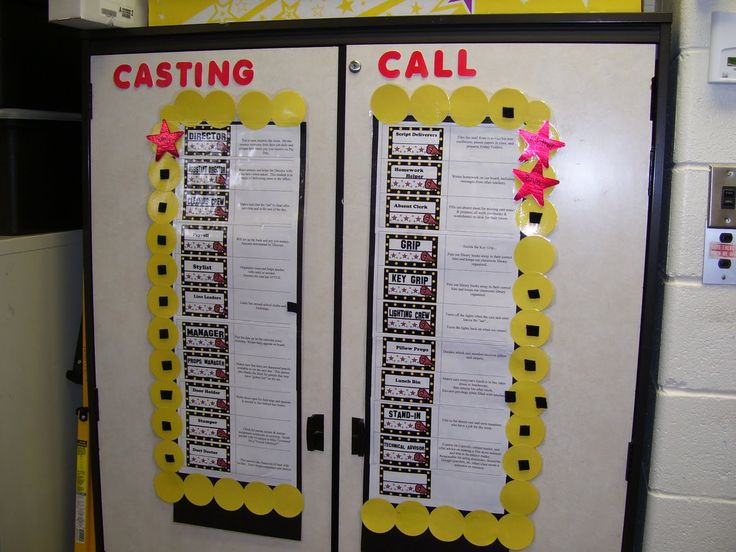 59 best Hollywood Theme Classroom images on Pinterest ...