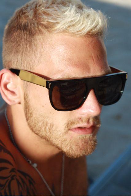 Seriously sharp sunglasses. #menswear #style #sunglasses