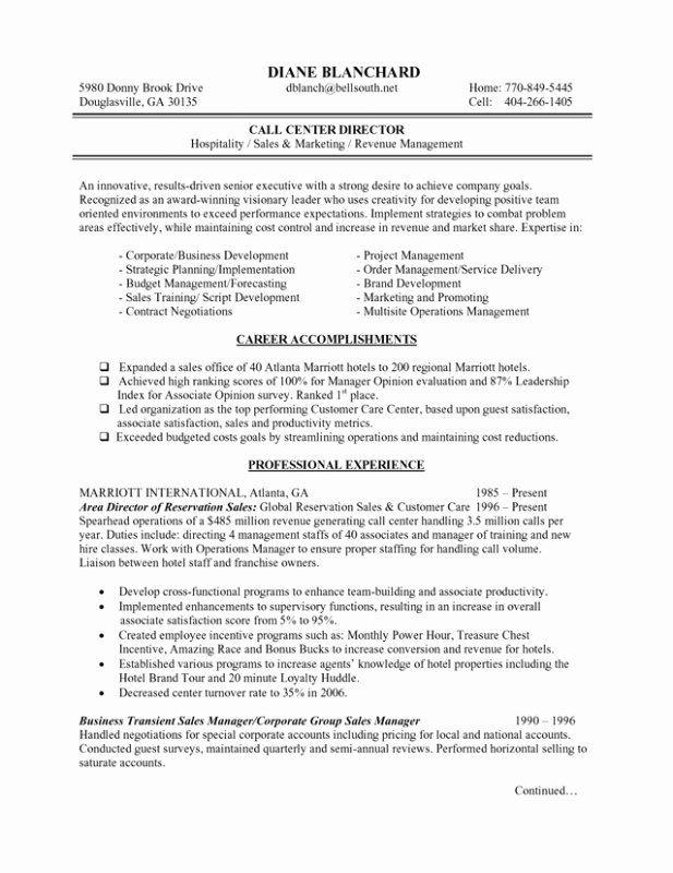 hotel general manager resume unique hotel manager resume