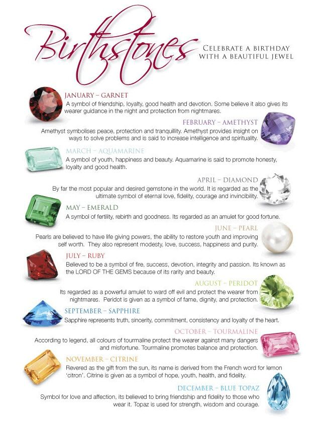 Meanings of birthstones #SkaneatelesJewelry #Skaneateles - birthstone chart template