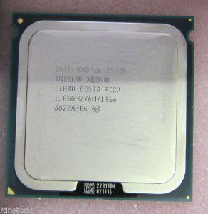 INTEL Xeon E5205 1.86GHz 6MB 1066FSB S771 SLBAU by Intel. $9.00. INTEL Xeon E5205 1.86GHz 6MB 1066FSB S771 SLBAU  HP PART#  459281-101