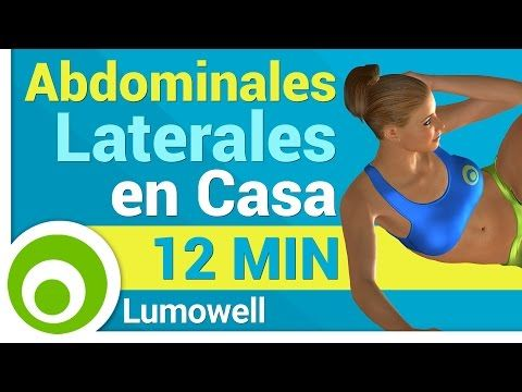 Abdominales Laterales en Casa - YouTube