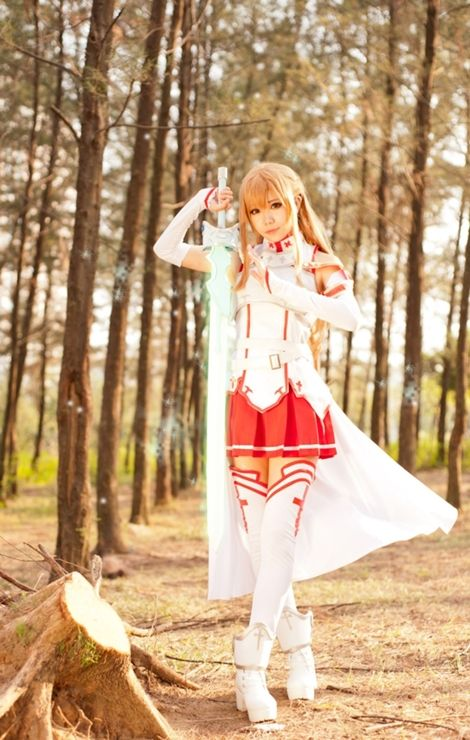 Sword Art Online Asuna Cosplay