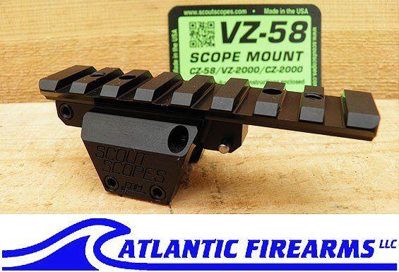 Scout Scopes VZ 58 / CZ 58 Scope Mount  Price: $78.00