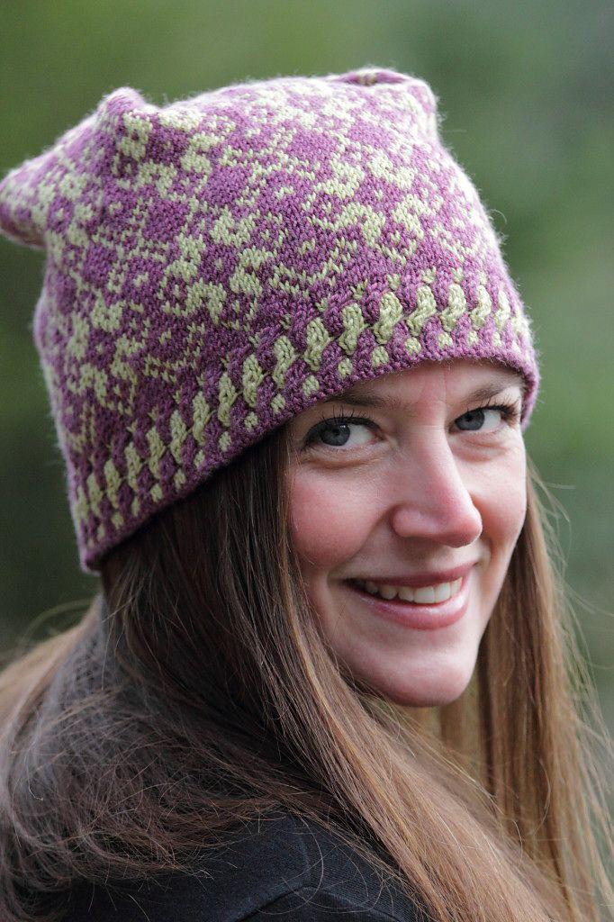 Ravelry: Russian Winter Hat  Purse pattern by Lisa Ellis