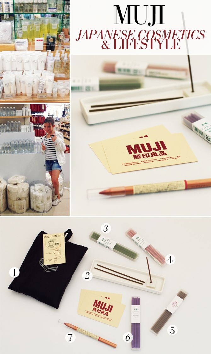 MUJI - Japanese Cosmetics & Lifestyle: For those of you who haven't heard about Muji yet, the popular Japanese brand offers a wide range of functional and high quality products at reasonable prices...