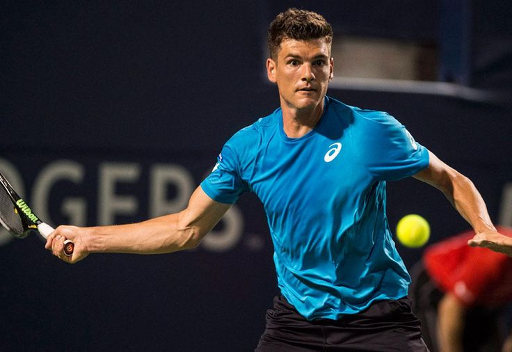 Canadian tennis // Rogers Cup 2017 (Day 1 - Qualifying) // Picture : Frank Dancevic (Copyright Aaron Vincent Elkaim/The Canadian Press)