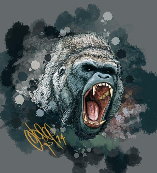 Gorila - Gorilla on Behance