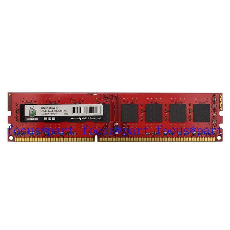 8GB DDR3 PC3-12800 1600MHZ Non-Ecc Memory Ram Fr AMD AM3 AMD3 CPU Chipset