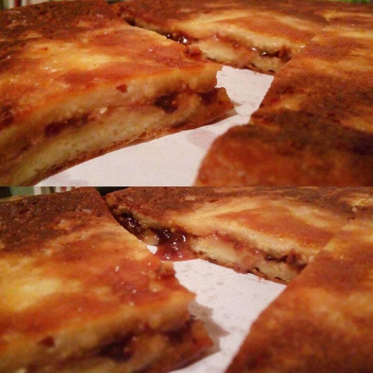 Ночной завтрак  когда ты никому не нужен  #night #moscow #myhobby #goodfood #food #eat #eating #cakes #pie #cook #strawberry #desert #kitchen #badmood
