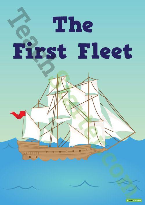 First Fleet Classroom Theme Pack Teaching Resource