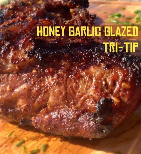 Honey Garlic Glazed Tri-Tip - Impress your BBQ guests!